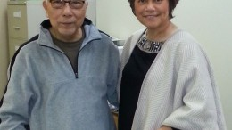 NDP interim leader with PCN.com editor Ted Alcuitas.