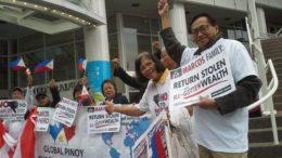 'No to Marcos,Never Again' (Philippine Canadian News.com photo)